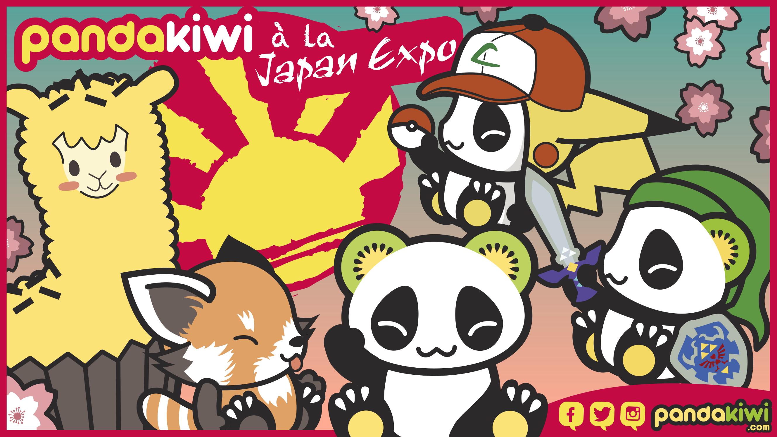 Image Pandakiwi à la Japan Expo