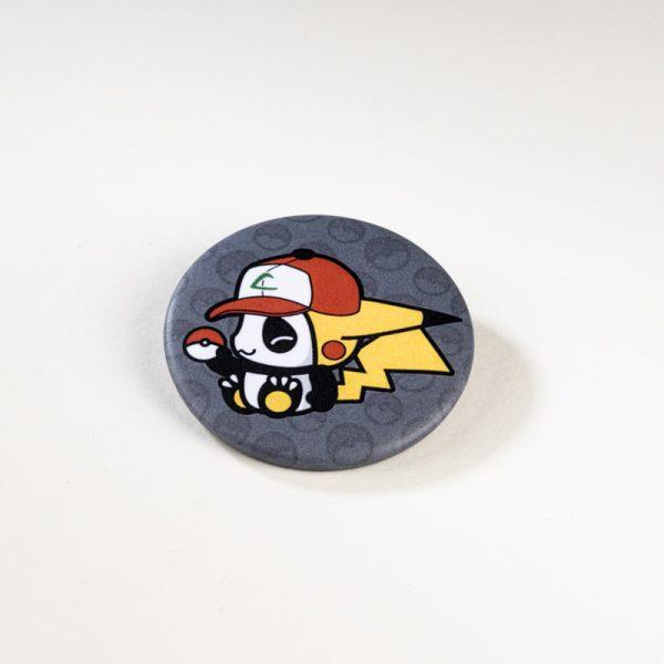 Badge Pandakiwi Pandachu