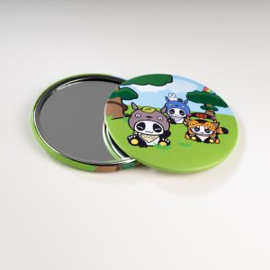 Miroir de poche Pandakiwi Mon Voisin Panda