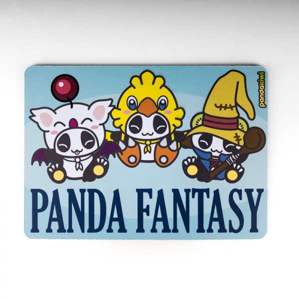 Tapis de souris Pandakiwi Panda Fantasy