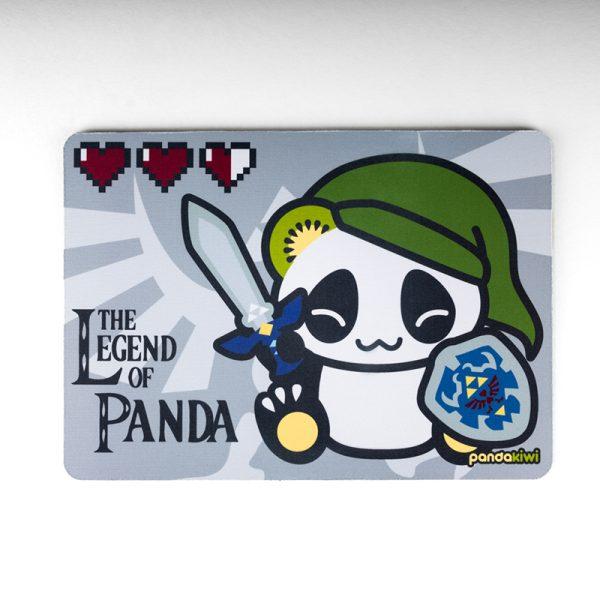 Tapis de souris Pandakiwi Legend of Panda